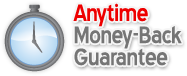 anytime money back guarantee on all hosting plans. Nothing to worry about.