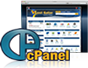 We offer cpanel and fantastico deluxe on all web hosting plans.